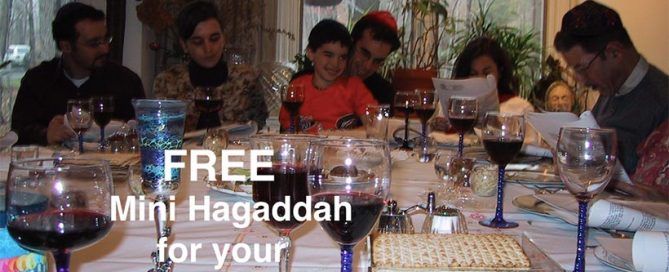 Free Mini Hagaddah Download For Video-Conference Seders