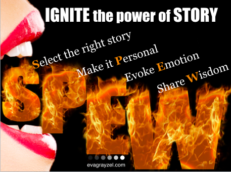 Learn the SPEW model to craft powerful stories
